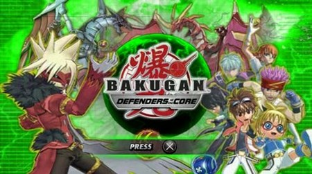 Bakugan Battle Brawlers Defenders of the Core PSP PPSSPP